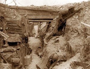 1° Guerra Mondiale - Soldati in trincea